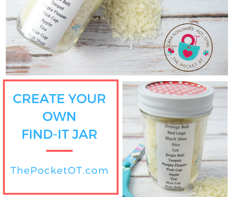 Make Your Own Find-It Jar