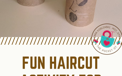 Fun and Easy Hair Cut Scissors Activity for Kids